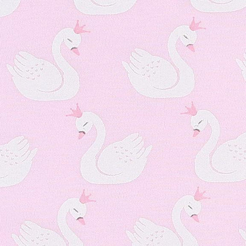 CISNE PINK PRINTED FLUTTERS DRESS