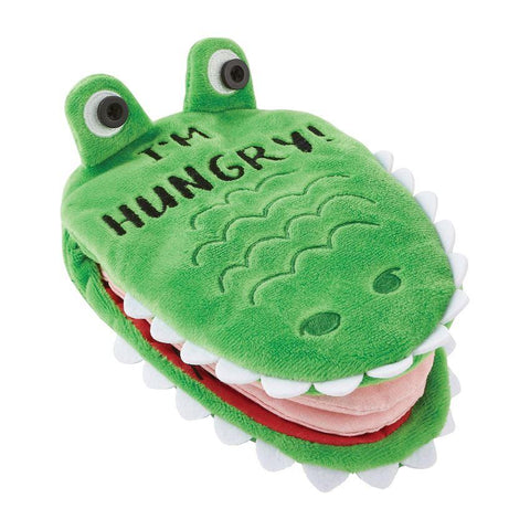 Alligator Plush Book