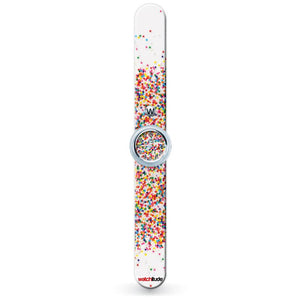 SLAP WATCH SPRINKLE DOT