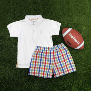SHELTON SHORTS - PINECREST PLAID