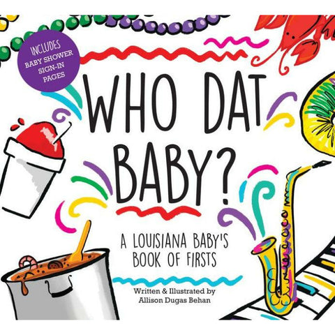 WHO DAT BABY BOOK