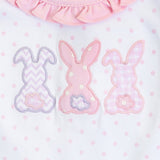 BUNNY APPLIQUE DRESS PINK