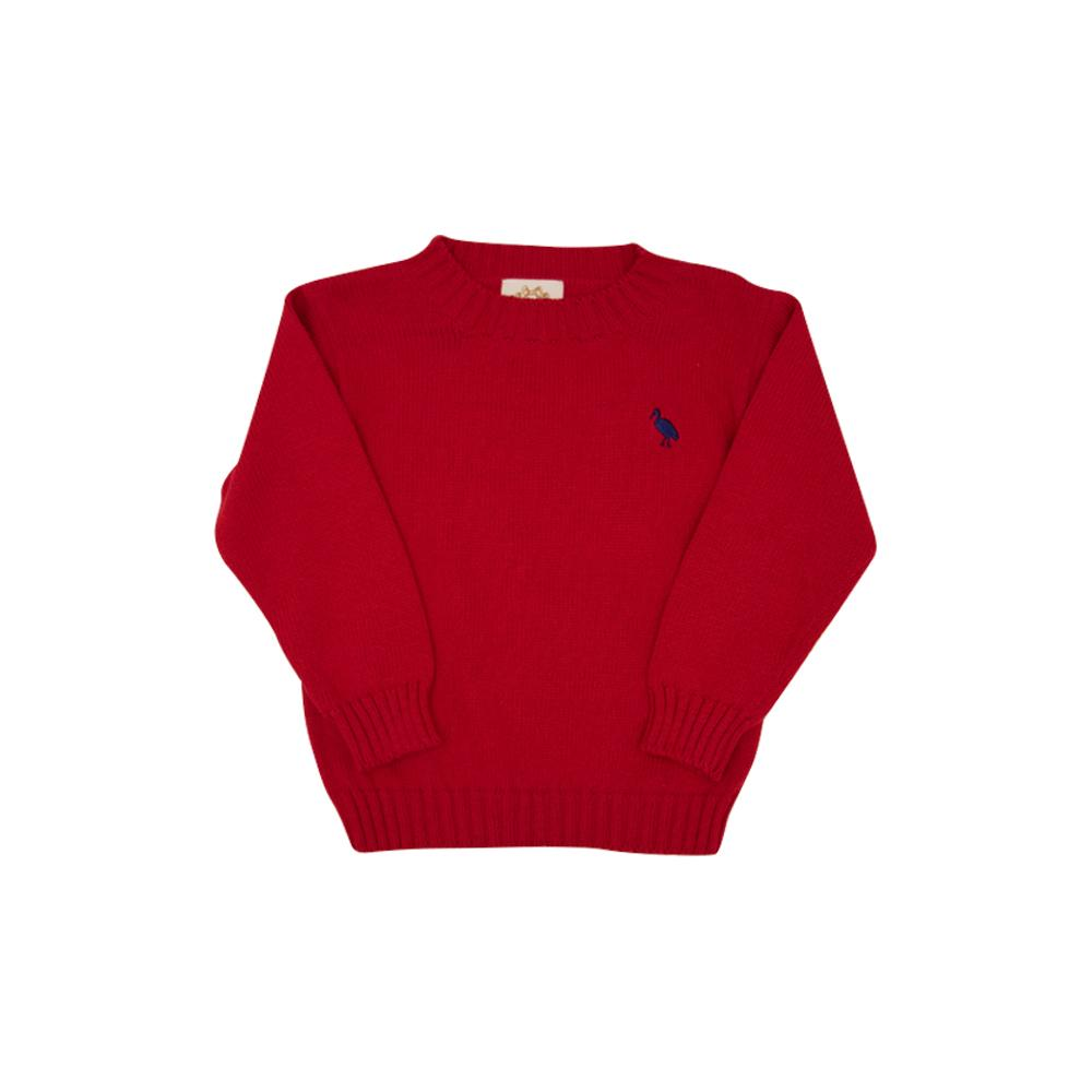 ISAAC'S SWEATER - RICHMOND RED