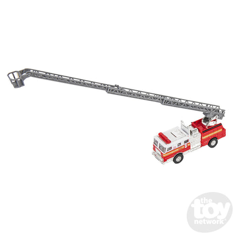 "5.5"" Diecast Pull Back Fire Truck"