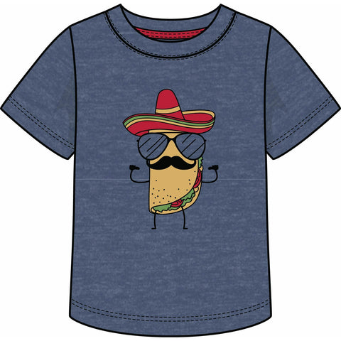 HEATHER INDIGO TACO TEE