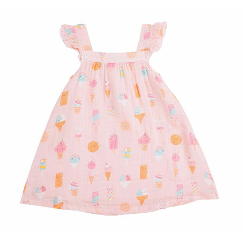 Ice Cream Muslin Sundress