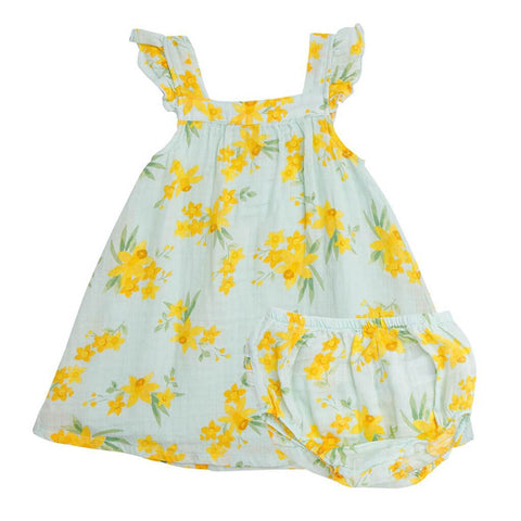 DAFFODILS SUNDRESS MINT