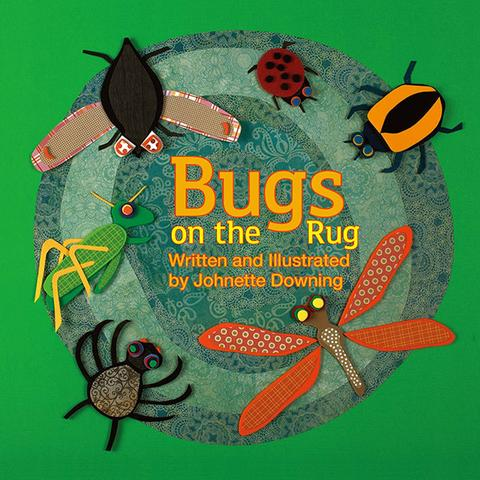 BUGS ON THE RUG BOARD BOOK