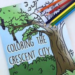 Coloring the Crescent City Book