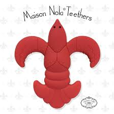NOLA TEETHERS CRAWFISH