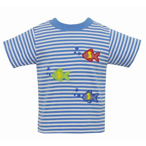 Fishies Stripe Shirt