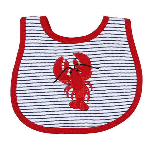 Crawfish Appliqué Bib