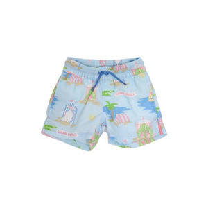 TORTOLA SWIM TRUNKS - CABANA