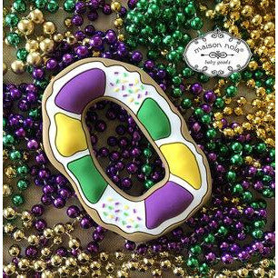 NOLA TEETHERS KING CAKE