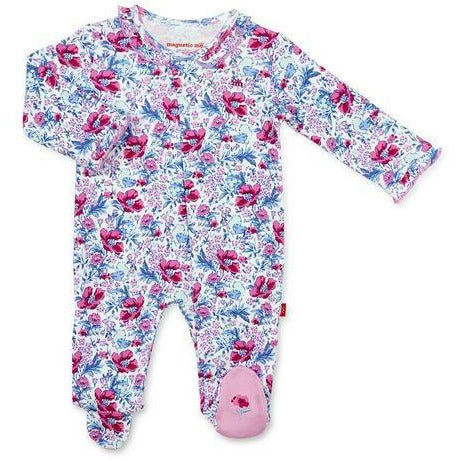 DARLINGTON ORGANIC COTTON MAGNETIC FOOTIE