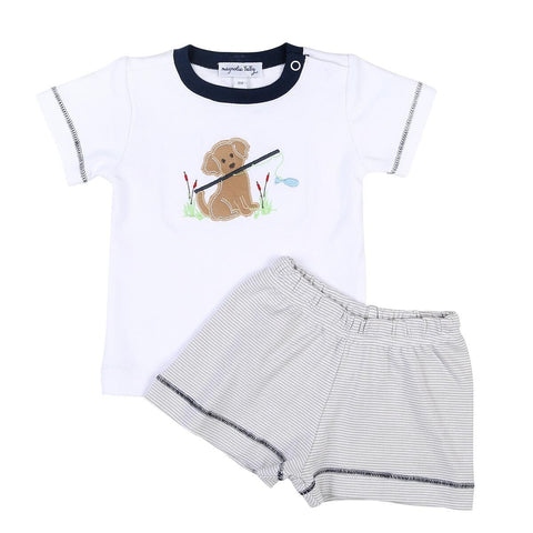 Gone Fishing Top and Short set