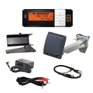 AGT XM Radio Receiver with PRO600 Antenna and Installation Kit