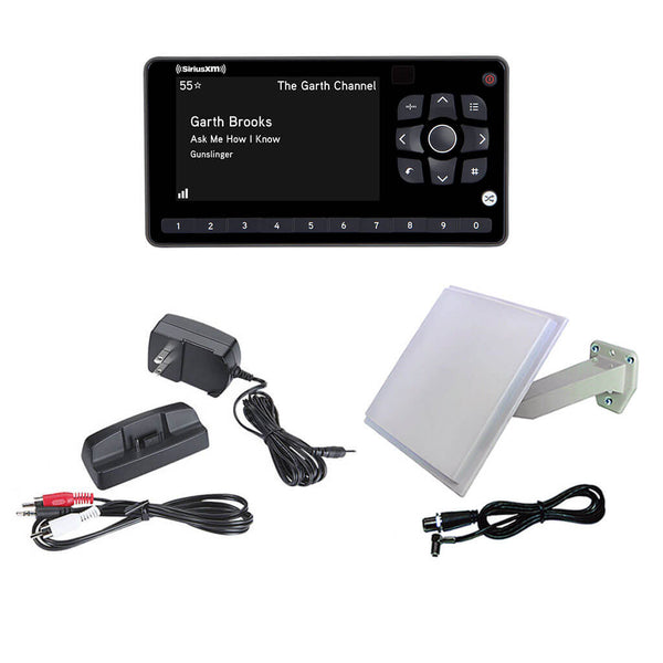 SiriusXM Satellite Radio OnyX EZR Receiver with Pixel PRO500 Antenna and Installation Kit