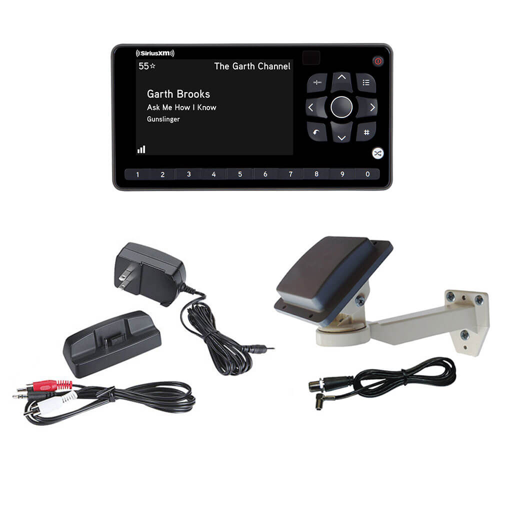 OnyX EZR with PRO600 Commercial Grade SiriusXM Antenna and Install Kit