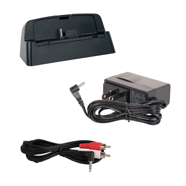 SiriusXM AC Power Adapter, Dock, and Audio Cable