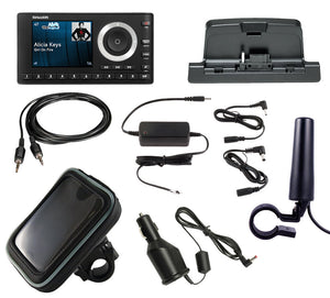 SiriusXM Satellite Radio onyX Plus Motorcycle Bundle