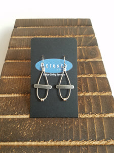 Retuned Bar Earrings