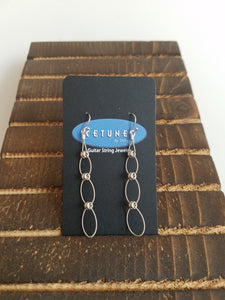 Retuned Triple Hoop Drop Earrings
