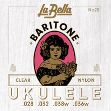 Load image into Gallery viewer, La Bella Uke-Pro Ukulele Strings - Baritone