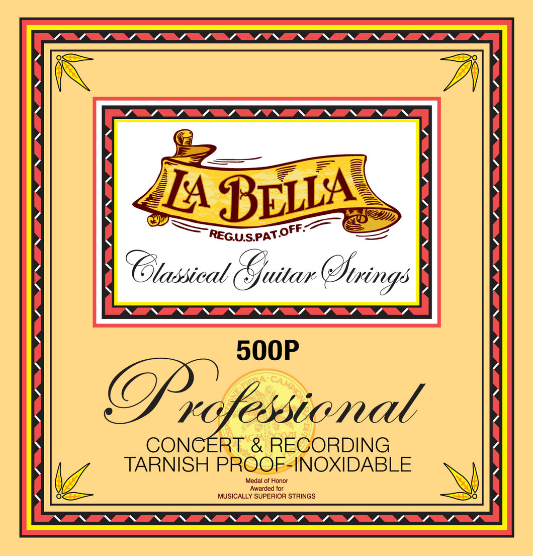 La Bella Professional Concert and Recording Nylon Guitar Strings