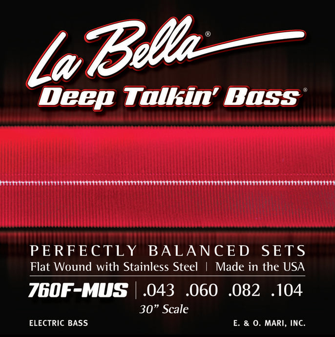 La Bella Deep Talkin' Bass Strings - 30