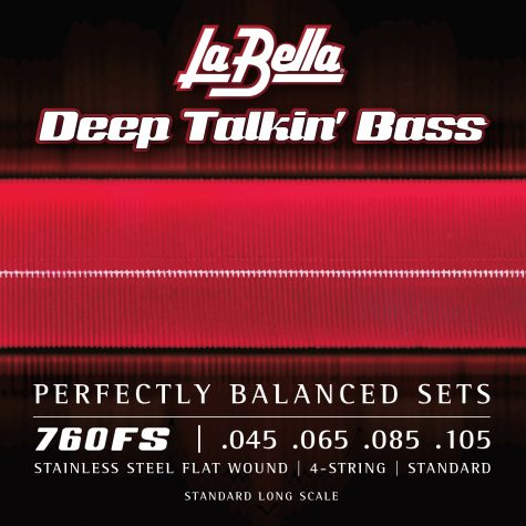 La Bella Deep Talkin' Bass Flats - Standard 45-105