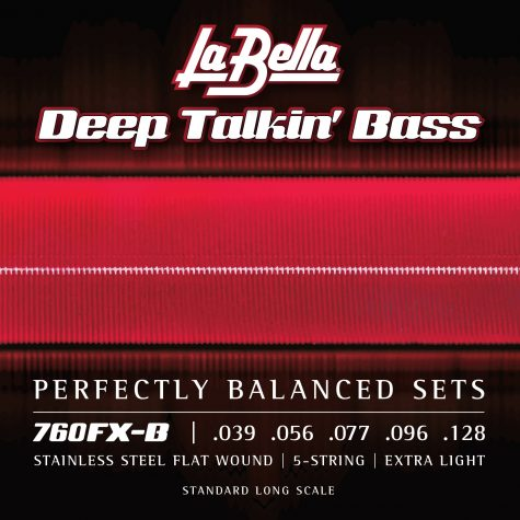 La Bella Deep Talkin' Bass Flats - 5-String Extra Light