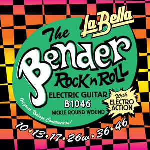 La Bella Super Bender Electric Guitar Strings 10-46