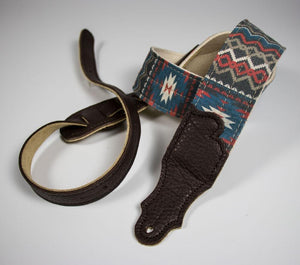 Franklin Old Aztec Canvas Guitar Strap