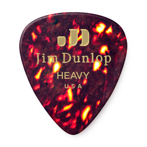 Dunlop Shell Celluloid Guitar Picks - Assorted