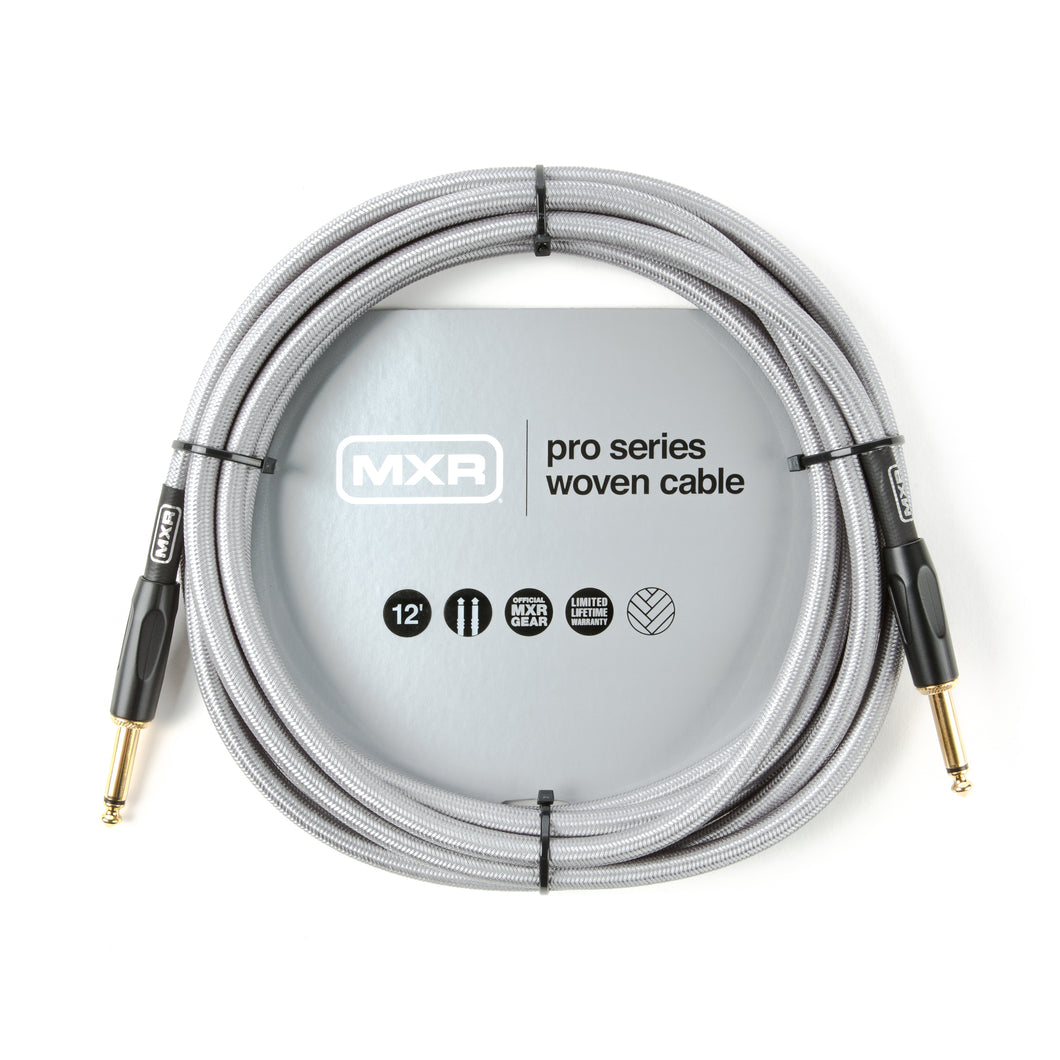 MXR Pro Series Woven Instrument Cable - 12' Straight/Straight