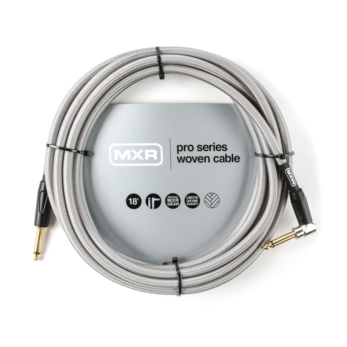 MXR Pro Series Woven Instrument Cable - 18' Straight/Right