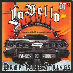 La Bella Drop Tune Electric Bass Strings - 54-111