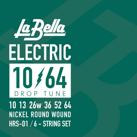 La Bella Drop Tune Electric Guitar Strings - 10-64