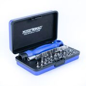 Music Premium Guitar Tech Screwdriver and Wrench Set