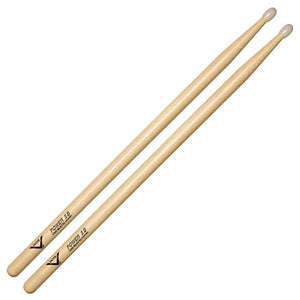 Vater Power 5B Hickory Drumsticks with Nylon Tip