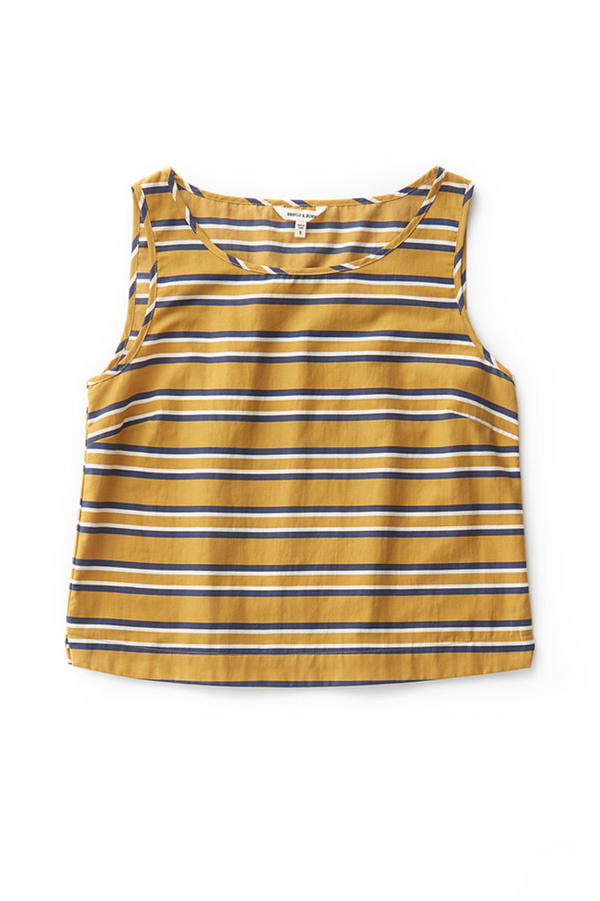 Meridian Gold Strip Top