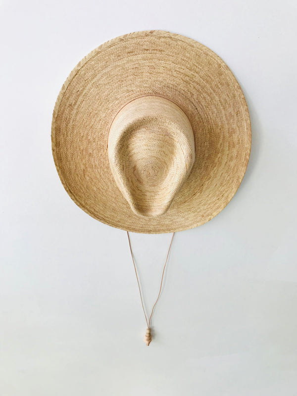 Desert Sun Hat - Golden Mexican Palm