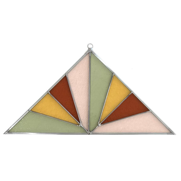 Panel - Large Triangle Pink Buckwheat