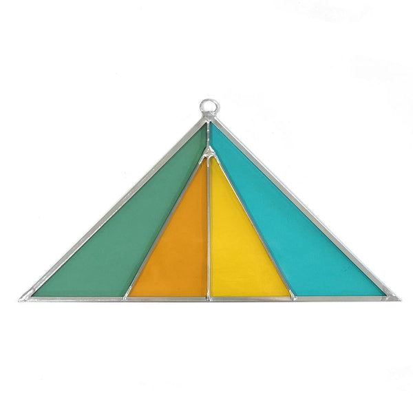 Triangle Suncatcher - Medium