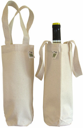 EcoBag Canvas Wine Bag