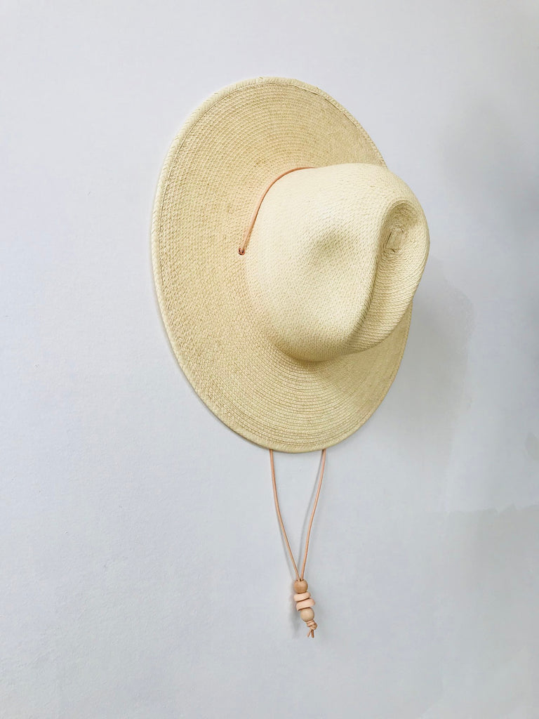 Desert Dome Hat - Natural Guatemalan Palm