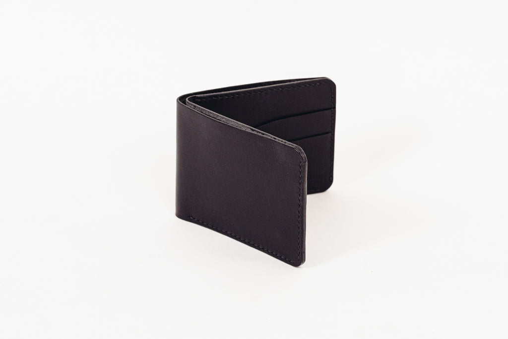 Leather Bi-Fold Wallet