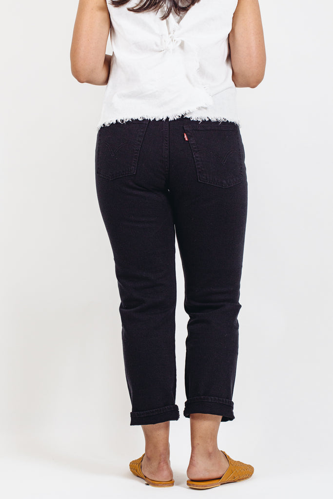 Levi's - Wedgie Straight - Black Heart