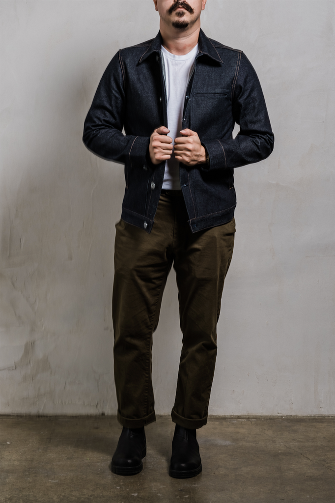 Rogue Territory Supply Jacket 15oz Indigo